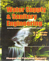 + Water Supply and Sanitary Engineering + Dhanpatrai Books